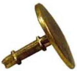 Picture of BRASS  CURVED  SURVEY MARKER