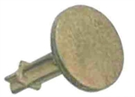Picture of BRASS  FLAT SURVEY MARKER