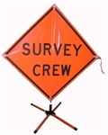 Picture of SURVEY CREW SIGN W/STAND