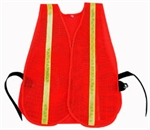 Picture of HI-VIZ REFLECTIVE SAFETY VEST-ORANGE GLO